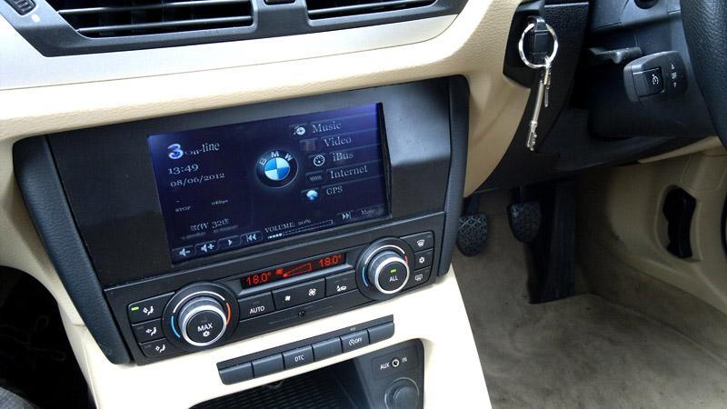 2010 bmw x1 e84 car computer install mp3car com 2010 bmw x1 e84 car computer install
